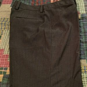 NWT Grey pinstriped dress pants